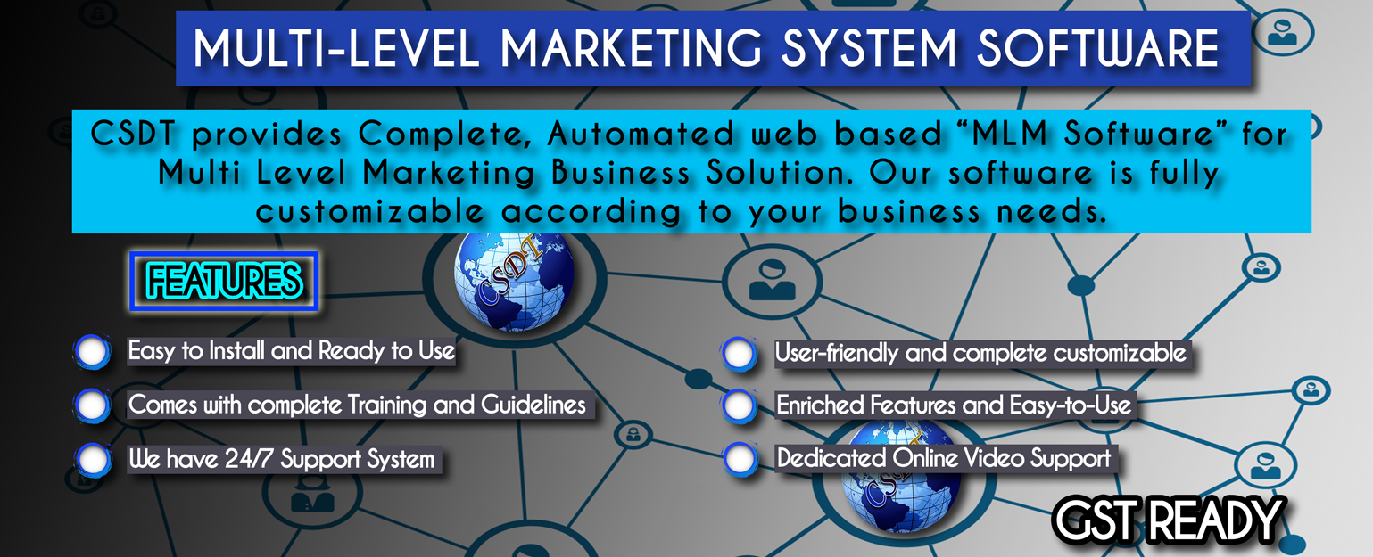 mlm business software