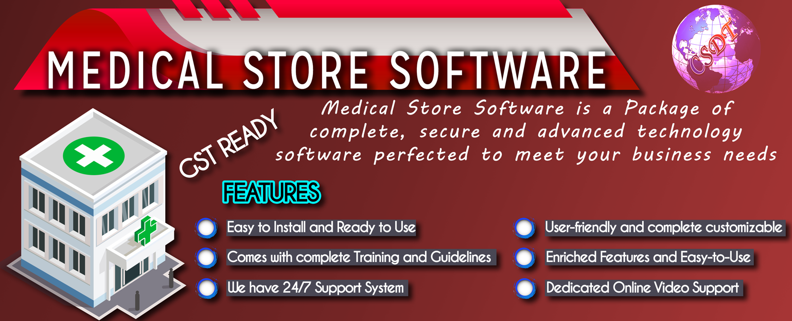 Medical & Pharma Billing Software