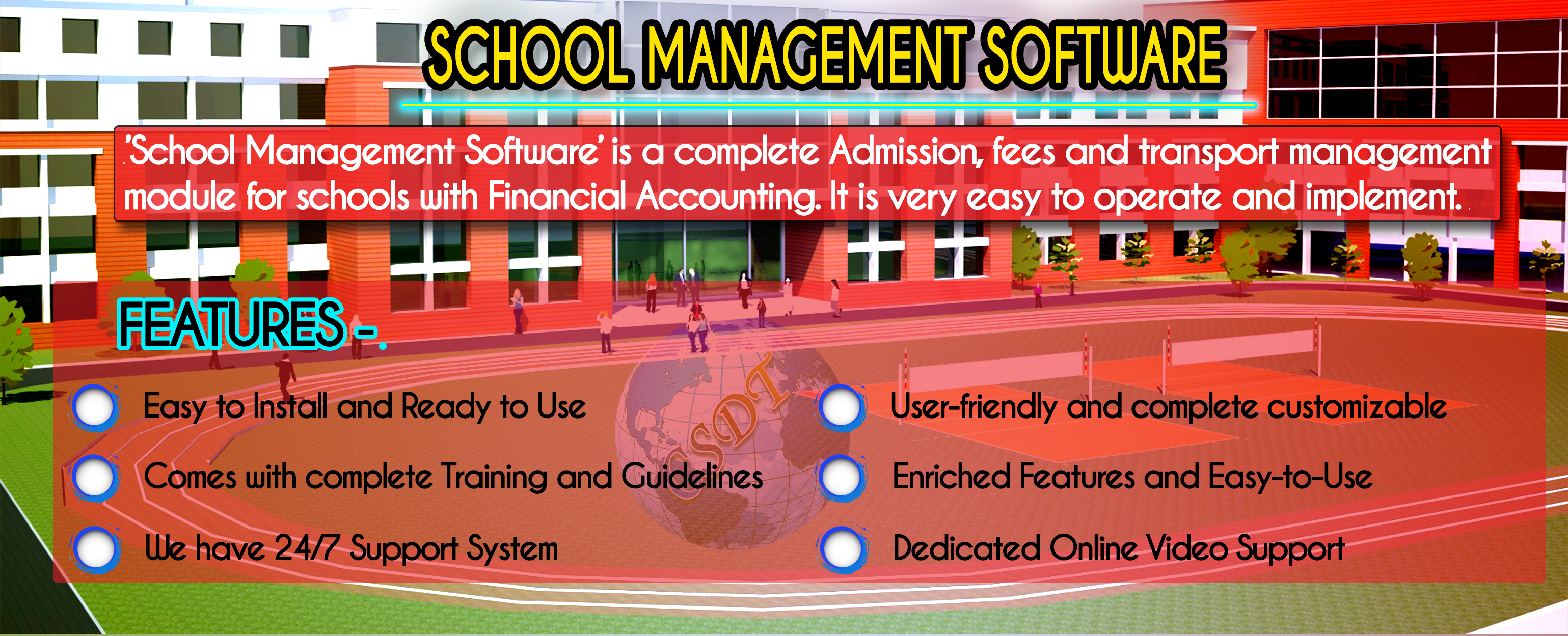 School Management Software providing company in patna